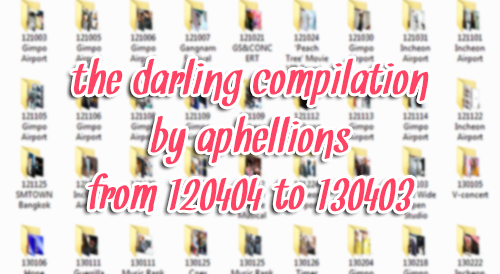 aphellions:    RULES:• do not take out download links• do not edit any of these photos• compiled for personal use only   → 120404 KBS Guerilla Date to 130403 Gimpo Airport→ 426 Files | 308MB | download 1 2→ reblog, share, and enjoy!