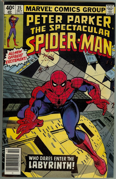 comicbookcollecting:  Peter Parker , The Spectacular Spider-Man Issue 35 … Marvel comics