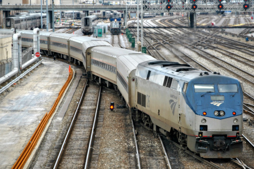 Amtrak Chicago by Loco Steve http://flic.kr/p/dYSEjP