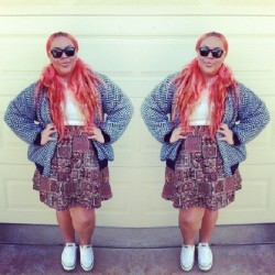 - #OOTD #WhatImWearing #SikilouStyle #FullyThrifted #thriftedFashion #thrifty #NaturalHair #LongHair #psf #fashion #fatshion #style #Converse #AllStars #THRIFT360 #RayBans #PolyFashion #LegitPolyThreads #LPT x