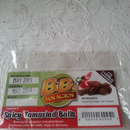 Summertime addiction! #spicytamarindball #caribbeansnacks