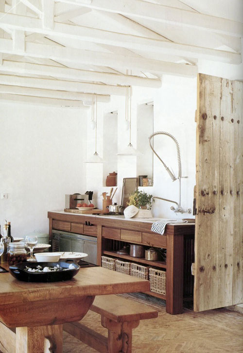 natural kitchen (by the style files)
