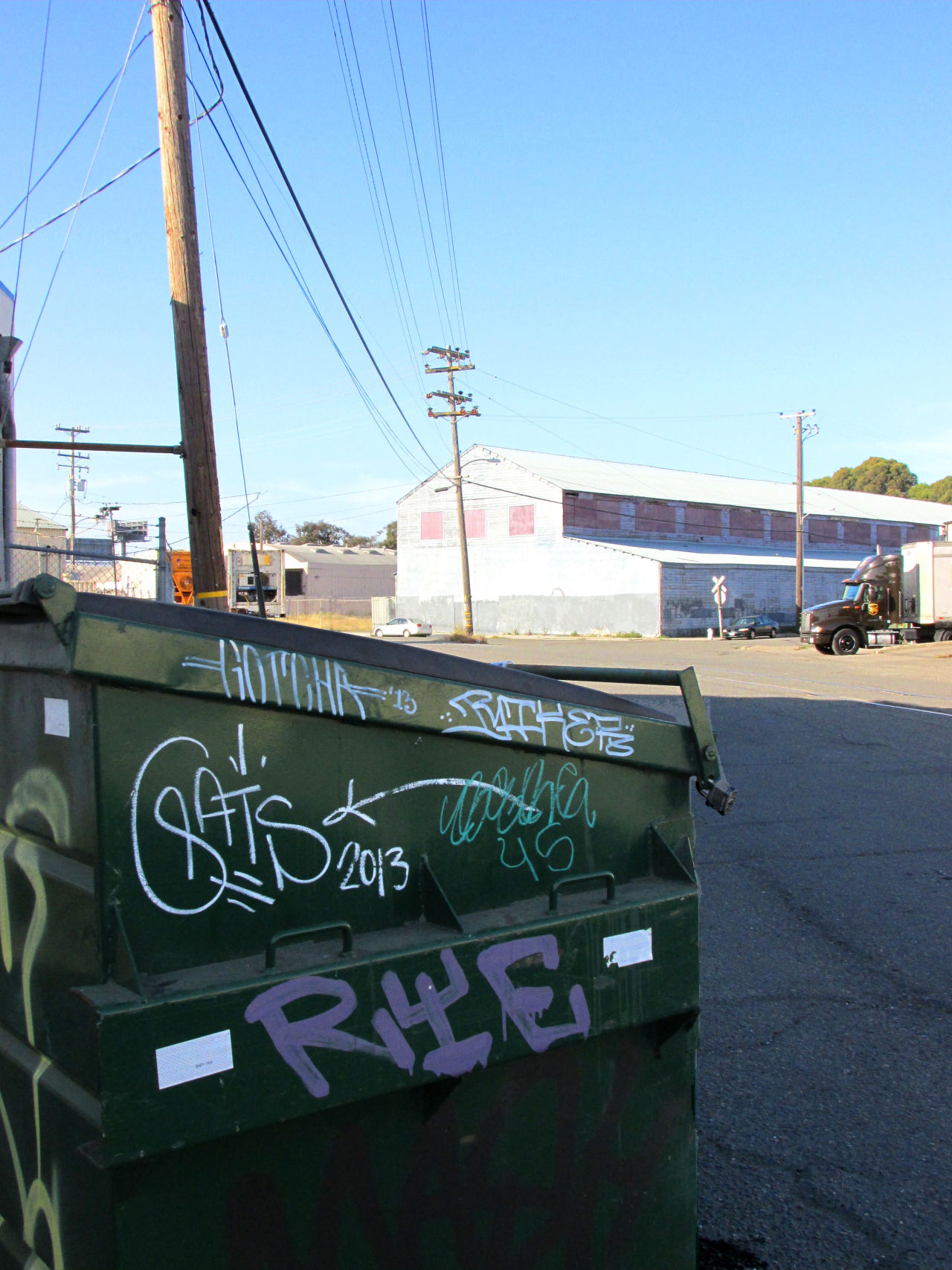 hellabay:  west oakland