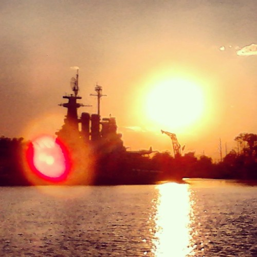 The #perfect #sunset the #battleship