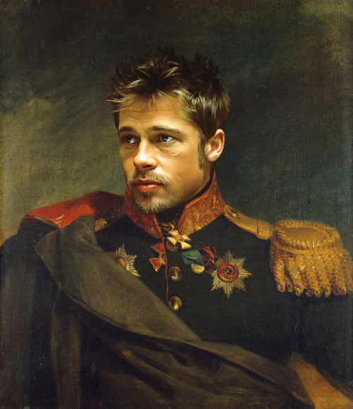 Brad Pitt by replaceface
