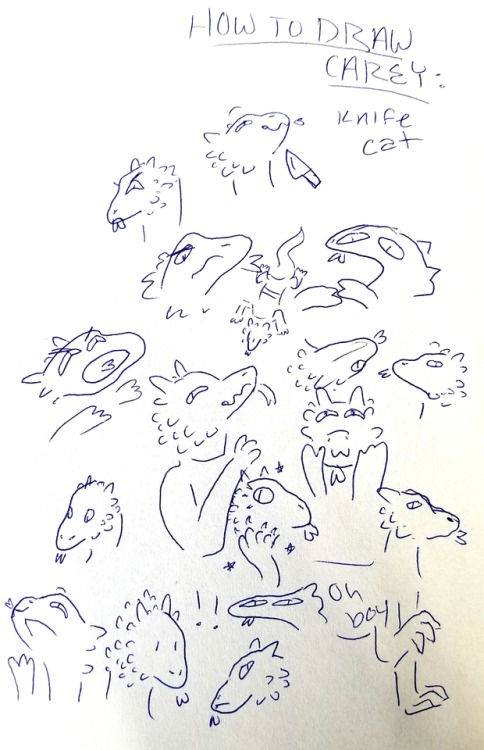 carey fangbattle taz the adventure zone doodles >:3c whispers