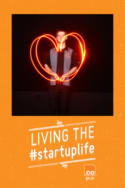 We're seeing orange at the dotCO Tech Cocktail #Startuplife Celebration at SXSW! Check out content from our two customized booths here http://bit.ly/YluRmr and herehttp://bit.ly/ZBEhwj