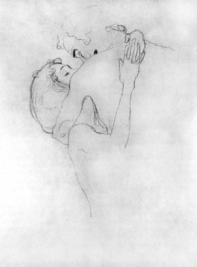 Gustav Klimt, Two Lovers