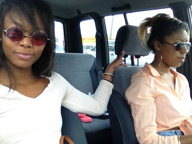 #ATL #RIDINROUND #MYMINIMARILYN #BLACKMONROE #PRETTYGIRLS