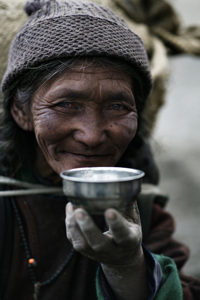 Tibetan tea. Yak Butter tea. (by Ray maï)