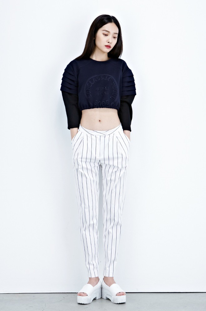 koreanmodel:  Kwak Jiyoung for Low Classic S/S 2013 collection