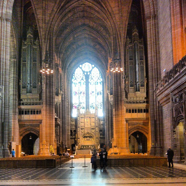 Liverpool Cathedral http://david-europeanexplorer.blogspot.co.uk/2013/05/cathedral-church-of-christ-in-liverpool.html