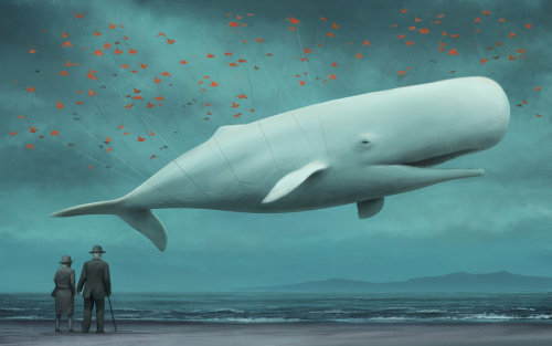A Realistic Illustration of Twitter's Fail Whale