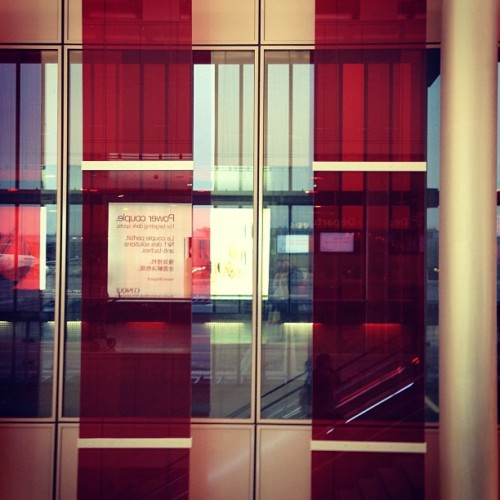Red Stripes (at Air France Lounge - 2E - M Gates)