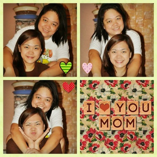 To the woman I look up to, Happy Mother's Day! I'll just make this short coz the card says it all. Dacal a salamat king egana-gana Mama. I ♥ you to the moon and back! :D #fambam #family