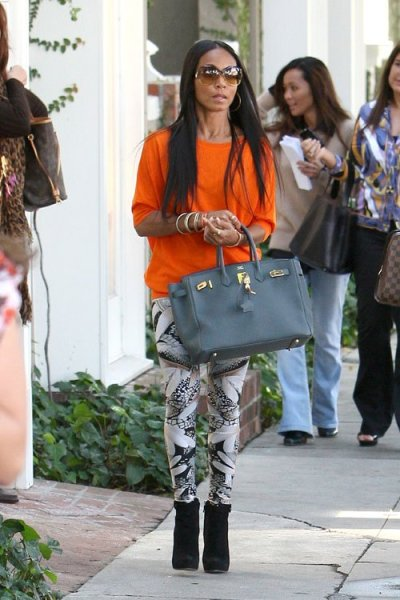 Jada Pinkett Smith shopping in West Hollywood on Tuesday.