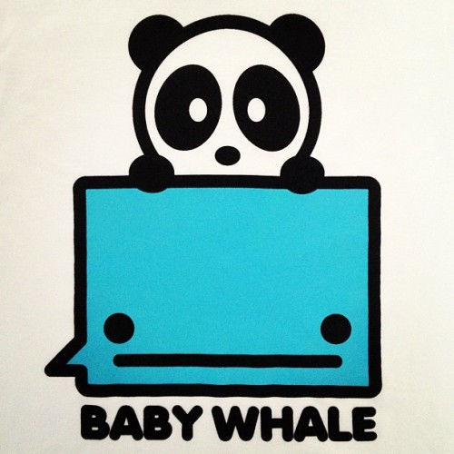 Baby Whale is back! All orders have been shipped out. 🐼🐳