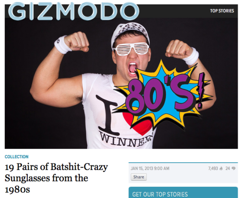 A portrait of the precise moment Gizmodo lost me as a reader.