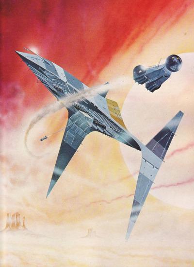 Angus McKie — Gavin Rothery #spaceship –