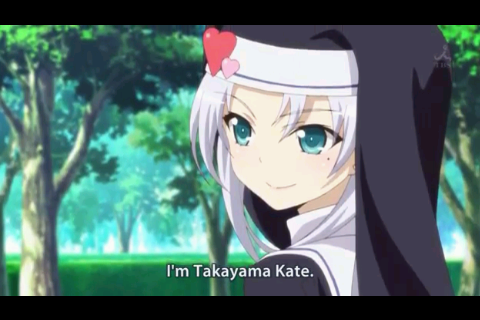 "Finally, Kate appeared on the anime! Despite her ""vulgar"" personality, she's quite caring and composed. she's one of the characters I like on the series."