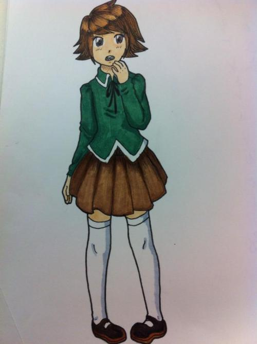 also chihiro is cute as h*ck