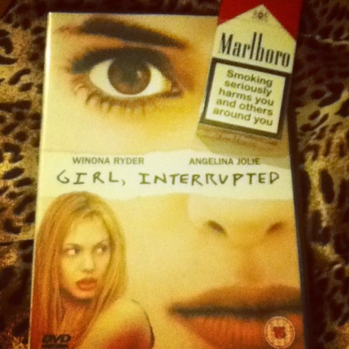 My feels tonight relate to this…. #girlinterrupted #love #favefilm #marlboro #cigarettes #bed #bedtime