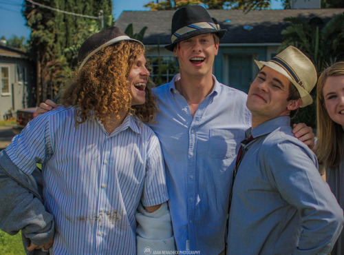 fuckyeah-workaholics:  babynewch:  Fedora's on Flickr.  lol at Jillian