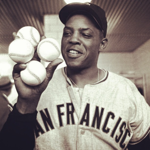 sfgiants:  Happy Birthday to the Greatest of All-Time - Willie Mays #SFGiants #SayHey
