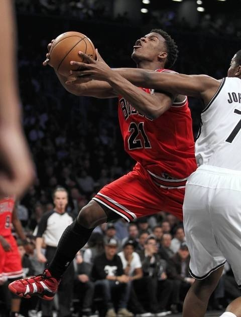 dgemsports:  2013 Eastern Conference Playoffs Round 1 Game 5 Nets - 110 Bulls - 91
