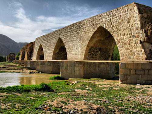 Shapouri Bridge, Khorramabad, Iran