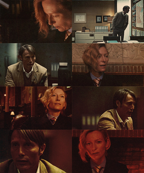 ♛ Hannibal Genderswap →Tilda Swinton as Hannibal Lecter