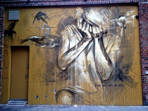 artinstreet:  Street art in New York City by Faith47