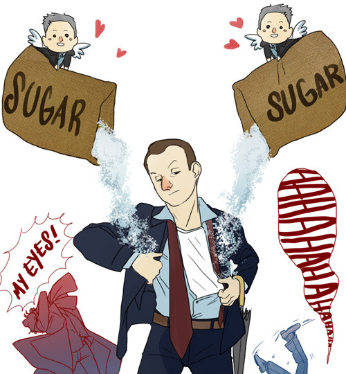 navydream:  POUR SOME SUGAR ON ME!!! ♪♫ (My brain tends to be idiotic most of the time… and I always hear him ._.)