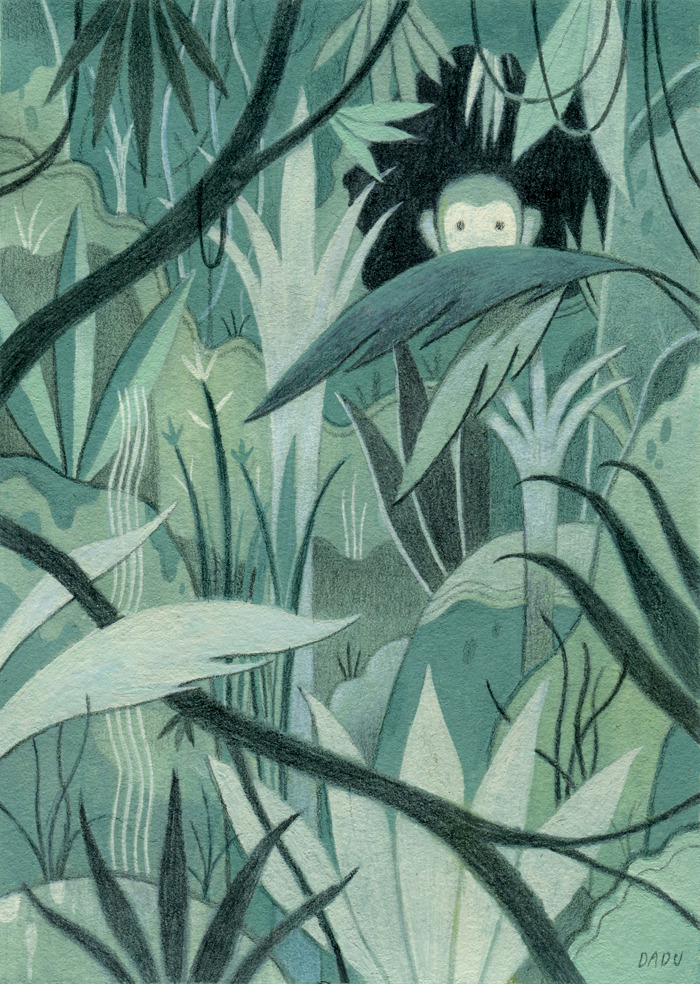 dadushin:  1 of my pieces for the Animal Kingdom show at Gallery Nucleus.  If you're around the area go check it out, the show has an amazing line up.
