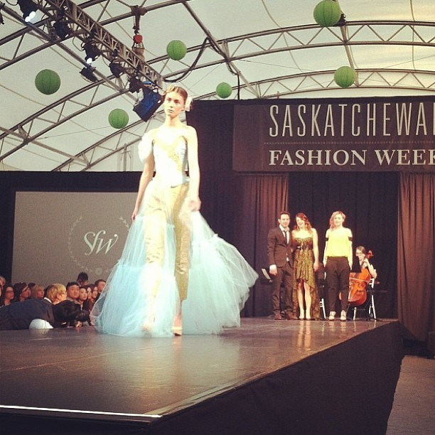 Had an amazing time #skfwf Saskatchewan fashion week! Looking forward to next year! @fs_co #fsco #thefashionsociety #trend #fashion #regina #style #talent