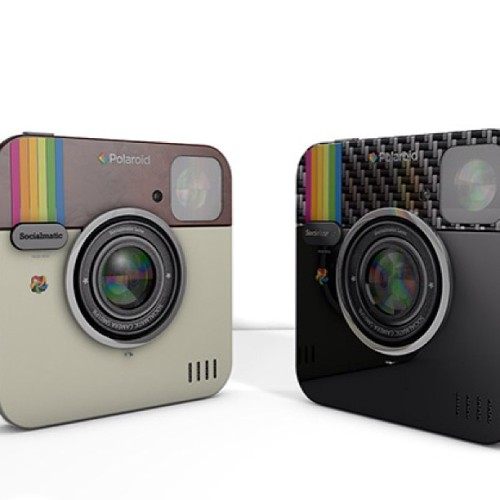 The Instagram Socialmatic Camera Becomes A Reality Under The #Polaroid Brand