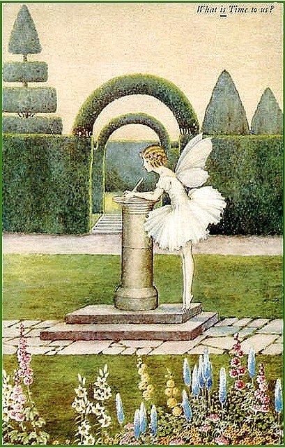 hoodoothatvoodoo:  Ida Rentoul Outhwaite 'What Is Time To Us?'
