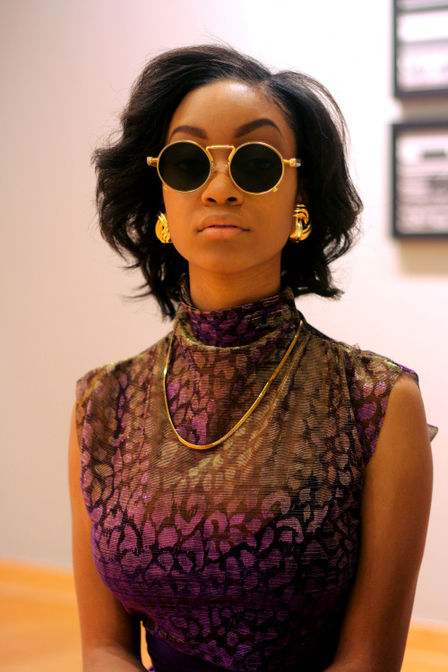rahm-bow:  Tyler dressed in Billie Dream's Couture by designer Bilaya Jackson