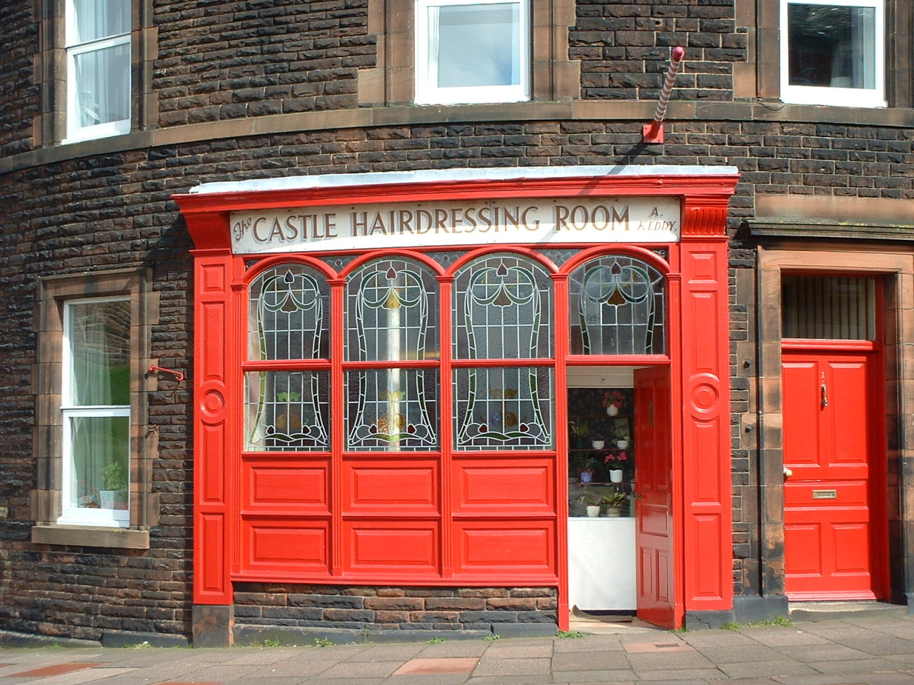 The Castle Hairdressing Room, Carlisle
