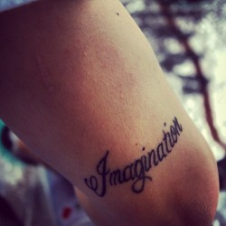 Just in my imagination #tattoo #graffiti