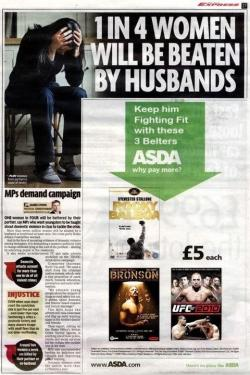 adteachings:  Worst ad placement ever? Yeah, I think so.