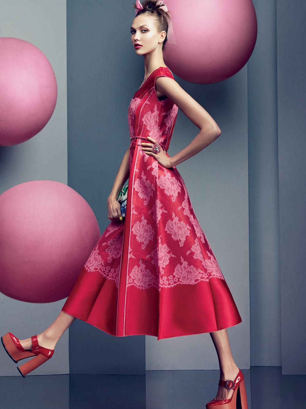 Currently loving: Karlie Kloss featured in the new Marc Jacobs Resort 2013 ads as seen in Vogue.
