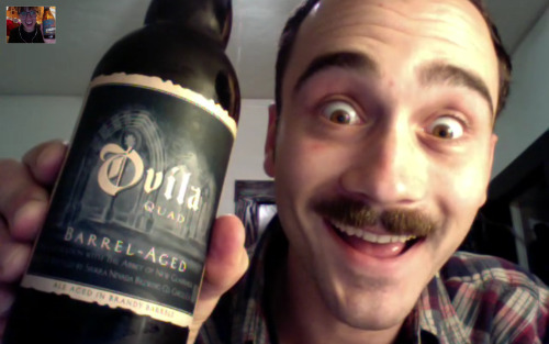 "Skype Date with BFF Brazie aka ""Web Beers with Brazie"" Geeze I miss this guy so much. This is my Sunday night. Don't be too jealous."