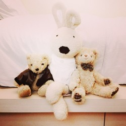 Little bunz and his 2 buddies :)