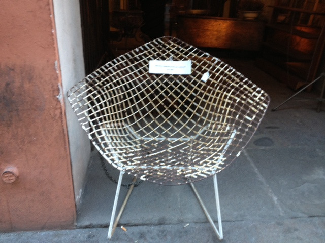 Bertoia Chair designed by Harry Bertoia for Knoll (1952)