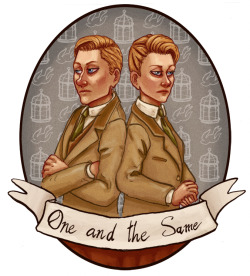 So Bioshock Infinite is ridiculously good, and the Lutece Twins are the best characters I love them.