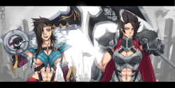phantomsolari:  Draven and Darius | クマ X [pixiv]