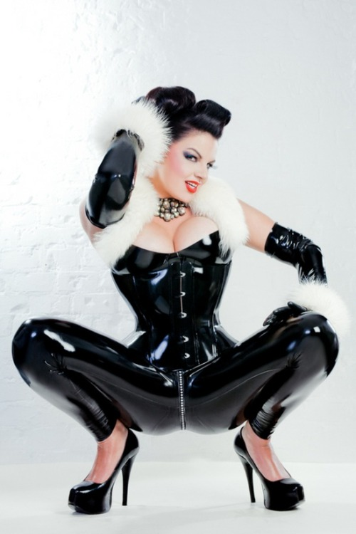 Latex and fur http://bit.ly/10JQuy1