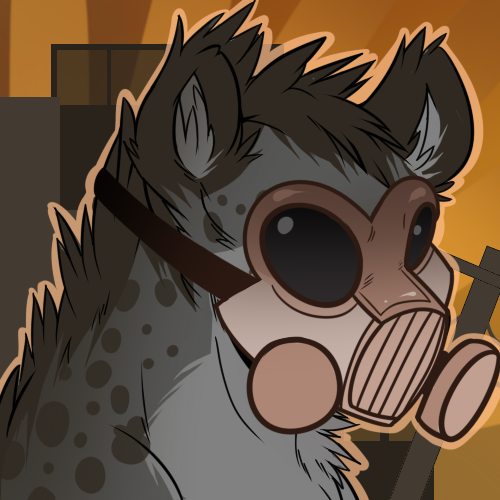 Icon Commission Part 2 - Sturmhyena The last part :D