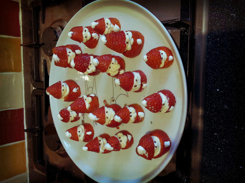 mutant strawberry santas on Flickr.mutant strawberry santas